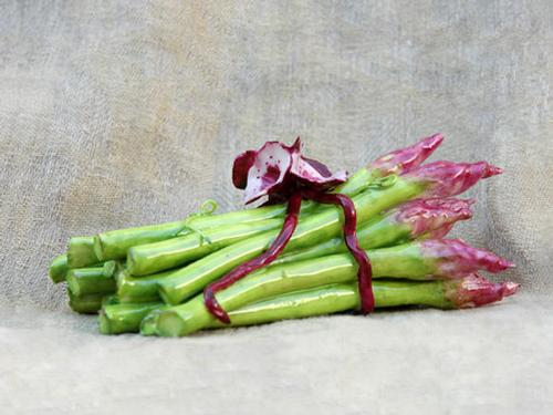 Asparagus with Flower